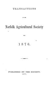 Transactions of the Norfolk Agricultural Society