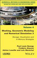 Meshing  Geometric Modeling and Numerical Simulation 3 PDF