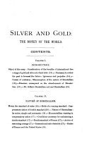 Silver and Gold  the Money of the World PDF