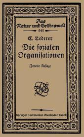 Die Sozialen Organisationen: Ausgabe 2