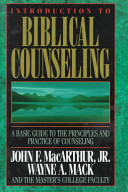 Introduction to Biblical Counseling PDF