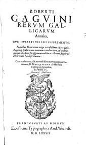 Rerum Gallicarum annales