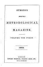Symons's Monthly Meteorological Magazine