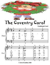 Coventry Carol - Easiest Piano Sheet Music Junior Edition