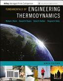 Fundamentals of Engineering Thermodynamics + Wileyplus Card