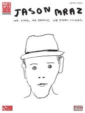 Jason Mraz - We Sing, We Dance, We Steal Things. (Songbook)