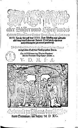 Der     Teil aller B  cher vnnd Schrifften des thewren  seligen Mans Gottes Doct  Mart  Lutheri PDF