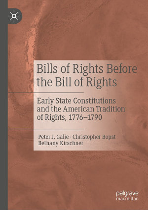 Bills of Rights Before the Bill of Rights PDF