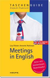 Meetings in English: TaschenGuide