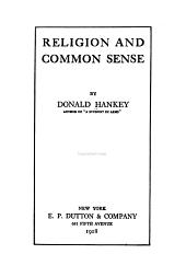 Religion and Common Sense