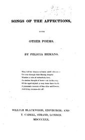 Songs of the Affections, with other poems
