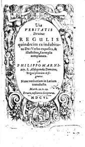 Via Veritatis Divinae: Regulis quindecim ex indubitato Dei Verbo exposita, & illustribus Exemplis complanata