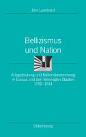 Bellizismus und Nation PDF