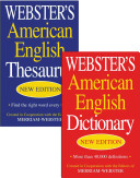 Webster s American English Dictionary Webster s American English Thesaurus Set