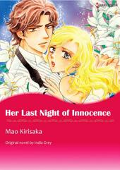 HER LAST NIGHT OF INNOCENCE: Harlequin Comics