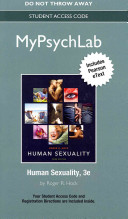 New Mypsychlab with Pearson Etext    Standalone Access Card    For Human Sexuality PDF