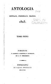 Antologia; giornale di scienze, lettere e arti: Volume 9