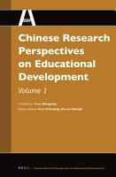 Chinese Research Perspectives on Educational Development PDF