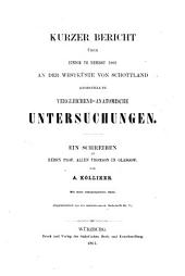 Kurzer Bericht über einige im Herbst 1864 an der Westküste von Schottland angestellte vergleichend-anatomische Untersuchungen: Band 5