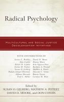 Radical Psychology PDF