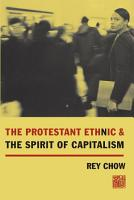 The Protestant Ethnic and the Spirit of Capitalism PDF
