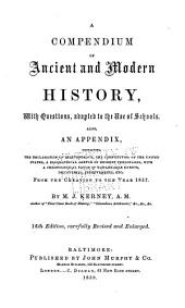 A Compendium of Ancient and Modern History