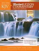 KJV Standard Lesson Commentary r  Large Print Edition 2017 2018