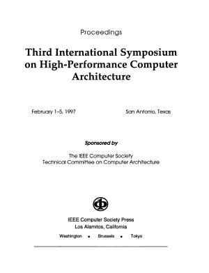 Third International Symposium on High Performance Computer Architecture