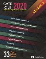 GATE-2020 CIVIL ENGINEERING VOLUME-II
