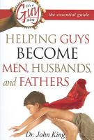 It s a Guy Thing  the Essential Guide PDF