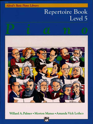 Alfred s Basic Piano Library  Repertoire Book Level 5