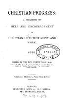 Christian progress  ed  by E  Boys PDF
