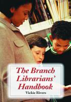 The Branch Librarians  Handbook PDF