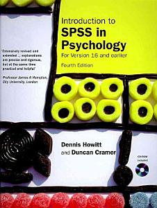 Introduction to SPSS in Psychology PDF
