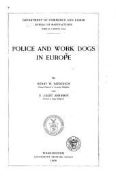 Police and Work Dogs in Europe