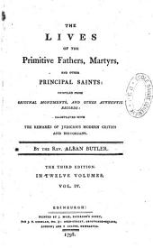 The lives of the primitive fathers, martyrs, and other principal saints...