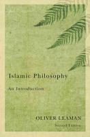 Islamic Philosophy PDF