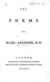The Poems of Mark Akenside, M.D.