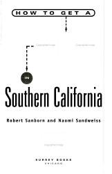 How To Get A Job In Southern California Book PDF