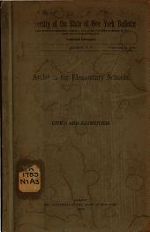 Syllabus for Elementary Schools: Civics and Patriotism