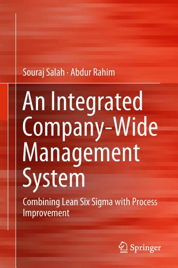An Integrated Company Wide Management System PDF