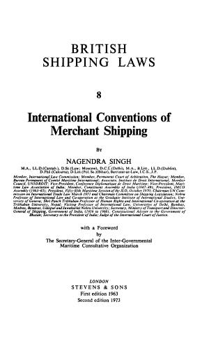 British Shipping Laws