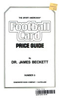 The Sport Americana Football Card Price Guide Number 9 Book PDF