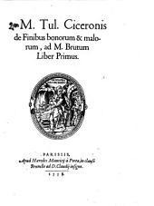 De finibus bonorum et malorum