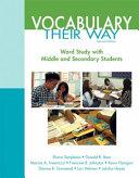 Vocabulary Their Way