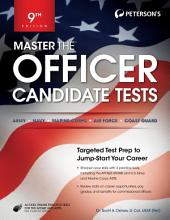 Master the Officer Candidate Tests: Edition 9