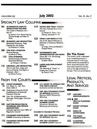 Colorado Lawyer PDF