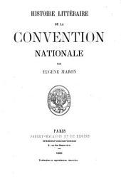 Histoire littéraire de la Convention nationale