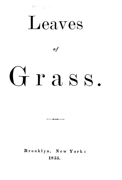 Download Leaves of Grass Book