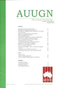AUUGN PDF